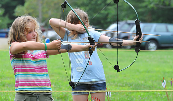 Archery is one of the many activities camper take part in at Camp Turner in Allegany State Park. (File Photo)