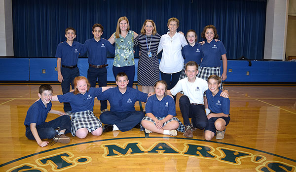 FICE Inclusion programs are provided at St. Mary School in Swormville.