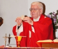 After retirement, Bishop Bernard McLaughlin said Mass every morning at 7:30 at St. Timothy