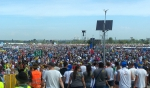 A sea of 2 million Catholic teens and young adults flood Krakow